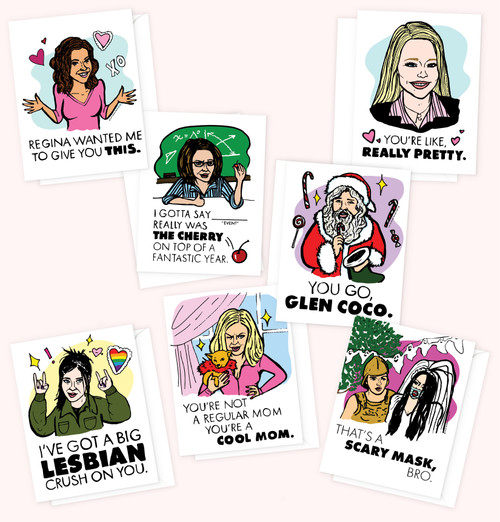 """""""Mean Girls"""" 7-Card Pack"""