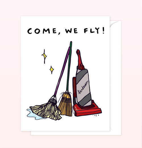 """Come, We Fly!"" Greeting Card"