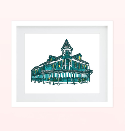 """Commander's Palace"" Print"