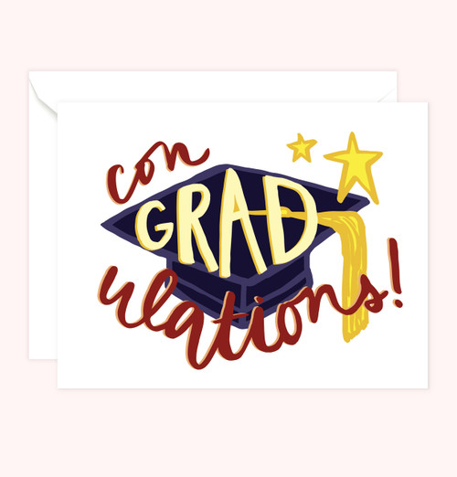 """ConGRADulations!"" Greeting Card"
