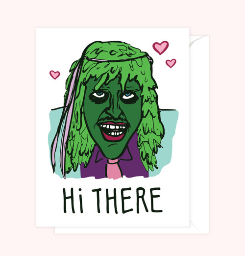 """""""Old Gregg"""" Greeting Card"""