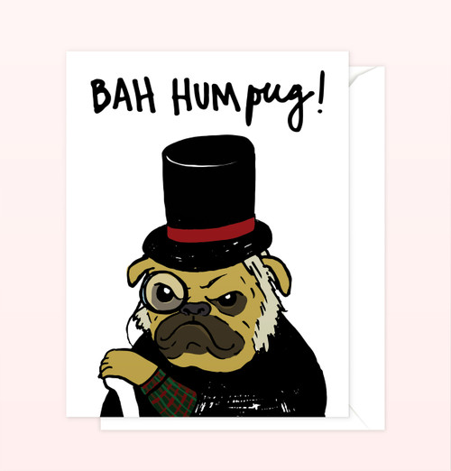 """Bah Humpug"" Greeting Card"