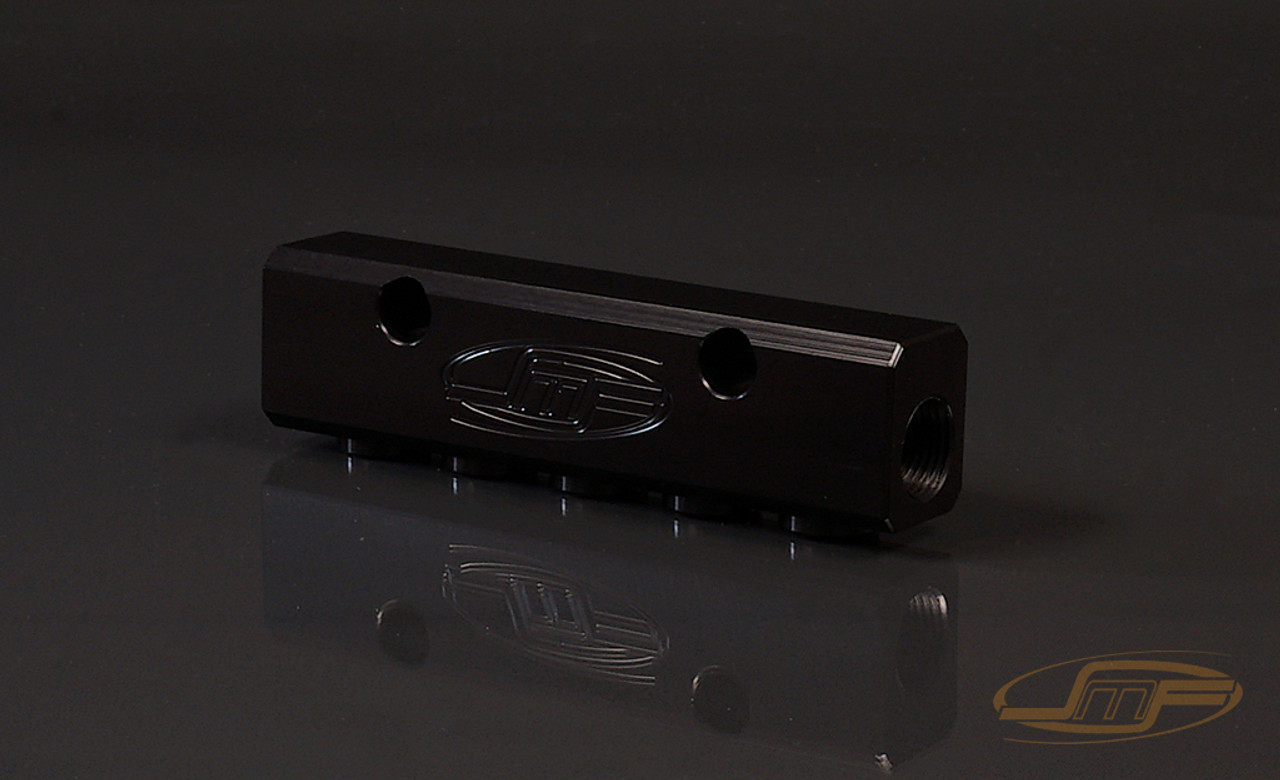 Shown in black anodized