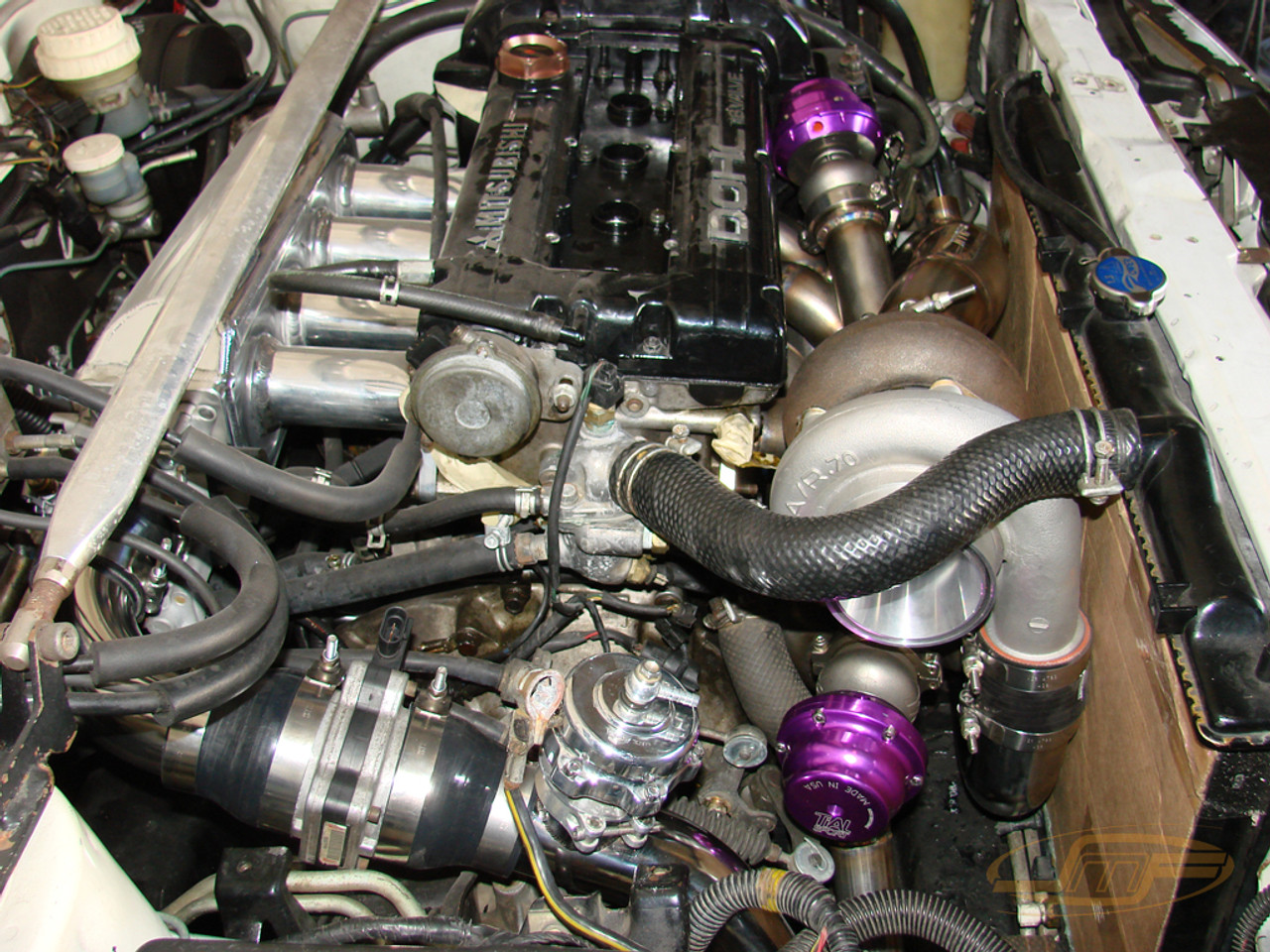 Galant VR4 Top Mount Exhaust Manifold