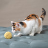 Great for chasing and pouncing.  Natural wool cat toys, made with love in the USA.