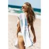 Sand Free Beach Towel - Aquamarine Mornings