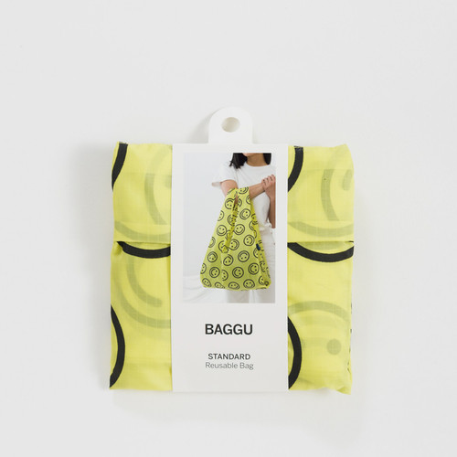 Yellow Happy - Standard Baggu