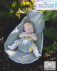 A supportive seat for babies with hip dysplasia