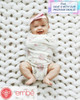 The 2-way swaddle by embe is great for babies with hip dysplasia.