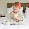 Hands In and Out 0.7 TOG Sleep Sack Cool Grey