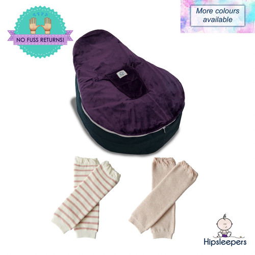 Our All Rounder Package includes a Supportive Bean Seat and 2 pairs of legwarmers.