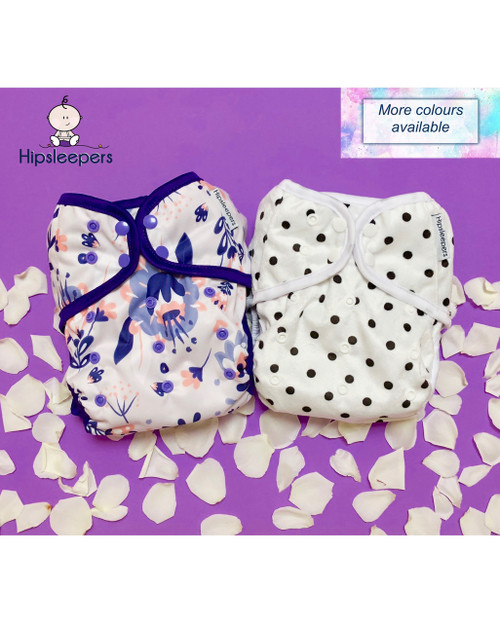 2 x spica sized nappy covers