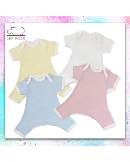 HipPose short sleeve rompers
