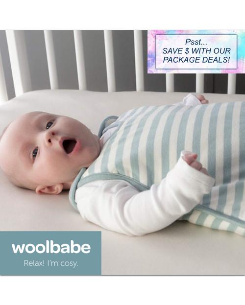 Woolbabe hip dysplasia 3 season sleeping bag