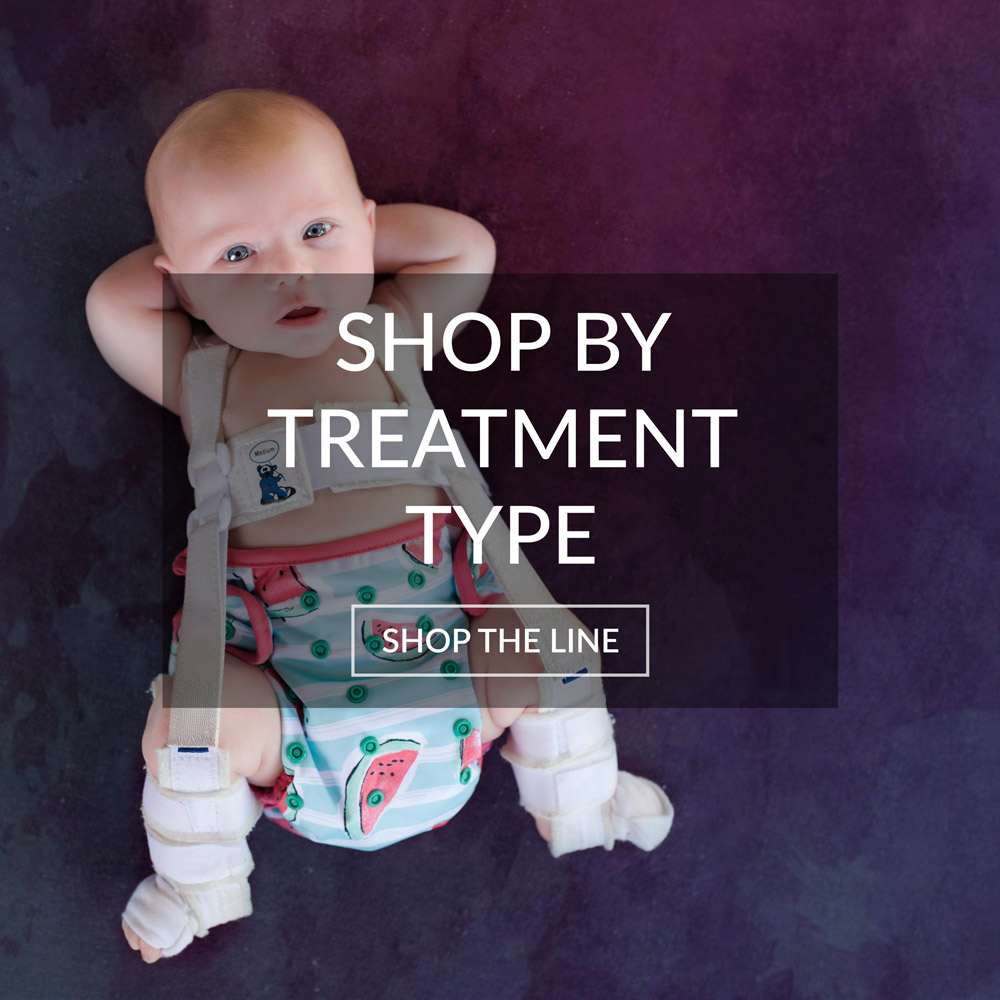 Shop for products based on the type of hip dysplasia treatment