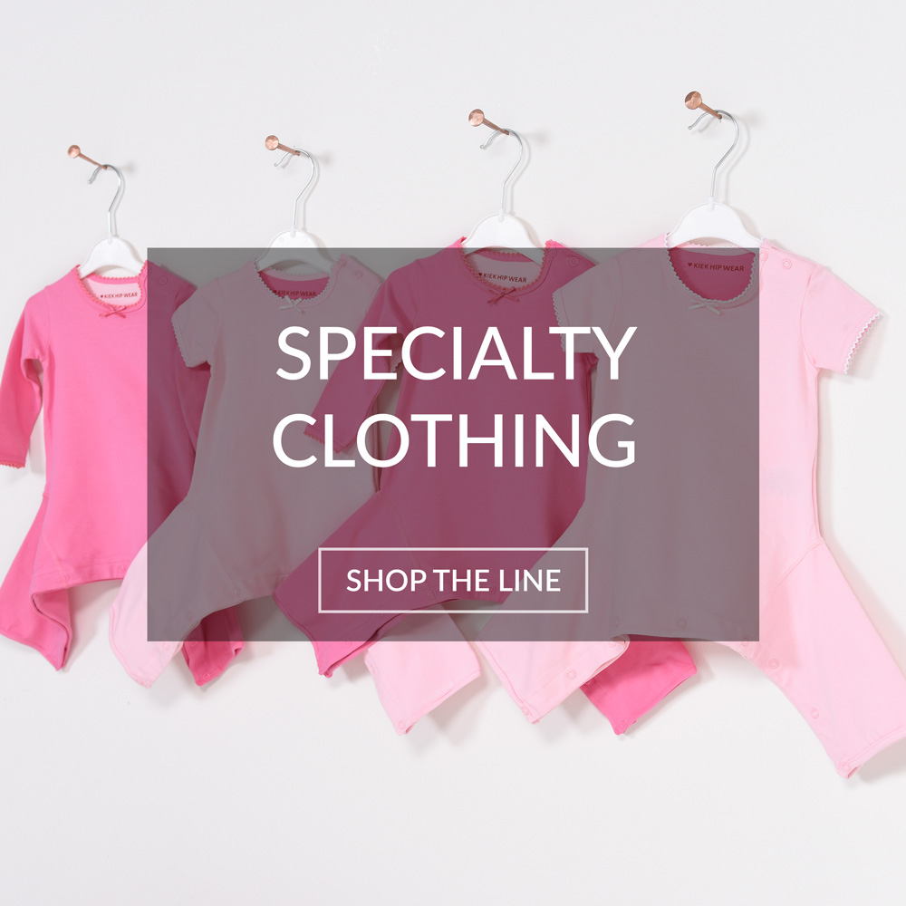 Specialty Clothing for Babies with Hip Dyspalsia