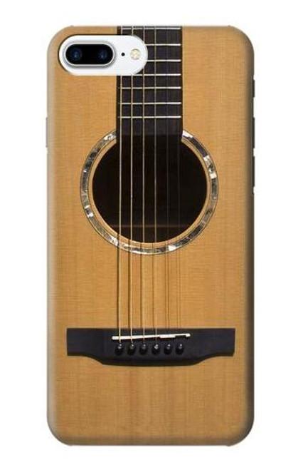 W0057 Acoustic Guitar Funda Carcasa Case y Caso Del Tirón Funda para iPhone 7 Plus, iPhone 8 Plus
