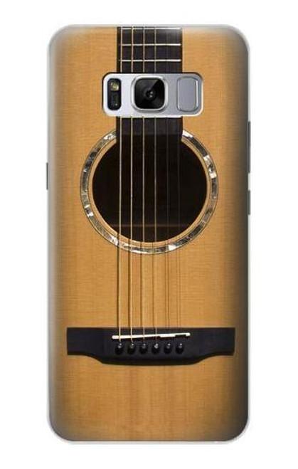 W0057 Acoustic Guitar Funda Carcasa Case y Caso Del Tirón Funda para Samsung Galaxy S8