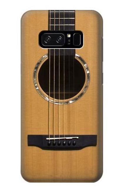 W0057 Acoustic Guitar Funda Carcasa Case y Caso Del Tirón Funda para Note 8 Samsung Galaxy Note8