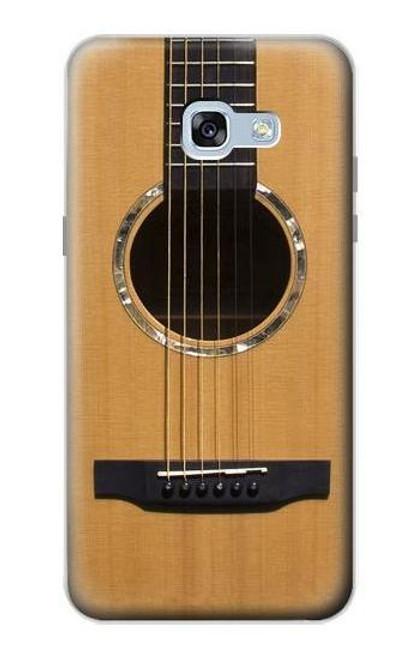 W0057 Acoustic Guitar Funda Carcasa Case y Caso Del Tirón Funda para Samsung Galaxy A5 (2017)
