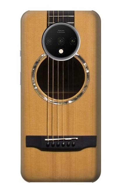 W0057 Acoustic Guitar Funda Carcasa Case y Caso Del Tirón Funda para OnePlus 7T