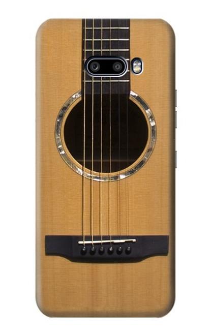 W0057 Acoustic Guitar Funda Carcasa Case y Caso Del Tirón Funda para LG G8X ThinQ