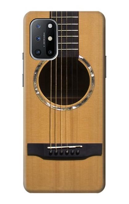 W0057 Acoustic Guitar Funda Carcasa Case y Caso Del Tirón Funda para OnePlus 8T