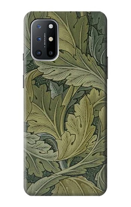 W3790 William Morris Acanthus Leaves Funda Carcasa Case y Caso Del Tirón Funda para OnePlus 8T