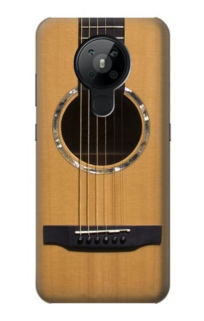 W0057 Acoustic Guitar Funda Carcasa Case y Caso Del Tirón Funda para Nokia 5.3