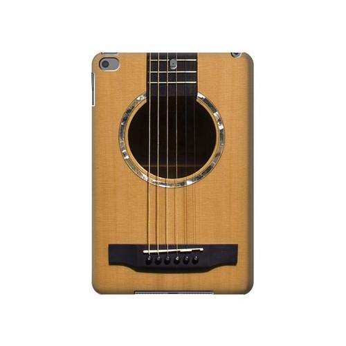 W0057 Acoustic Guitar Tablet Funda Carcasa Case para iPad mini 4, iPad mini 5, iPad mini 5 (2019)