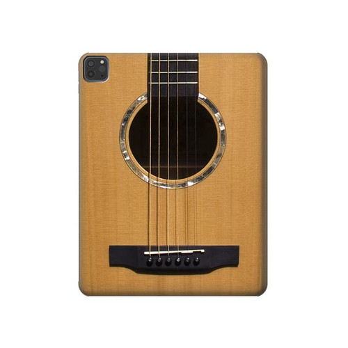 W0057 Acoustic Guitar Tablet Funda Carcasa Case para iPad Pro 11 (2018,2020), iPad Air 4 (2020), iPad Air (2020)
