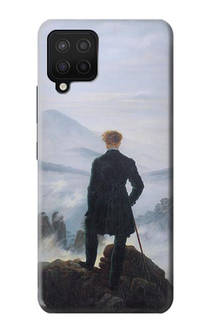 W3789 Wanderer above the Sea of Fog Funda Carcasa Case y Caso Del Tirón Funda para Samsung Galaxy A42 5G