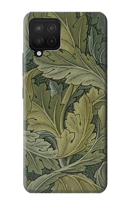 W3790 William Morris Acanthus Leaves Funda Carcasa Case y Caso Del Tirón Funda para Samsung Galaxy A42 5G