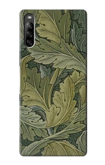 W3790 William Morris Acanthus Leaves Funda Carcasa Case y Caso Del Tirón Funda para Sony Xperia L5