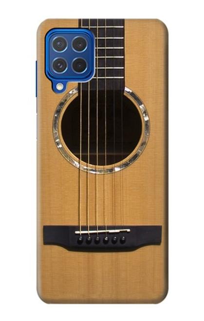 W0057 Acoustic Guitar Funda Carcasa Case y Caso Del Tirón Funda para Samsung Galaxy M62