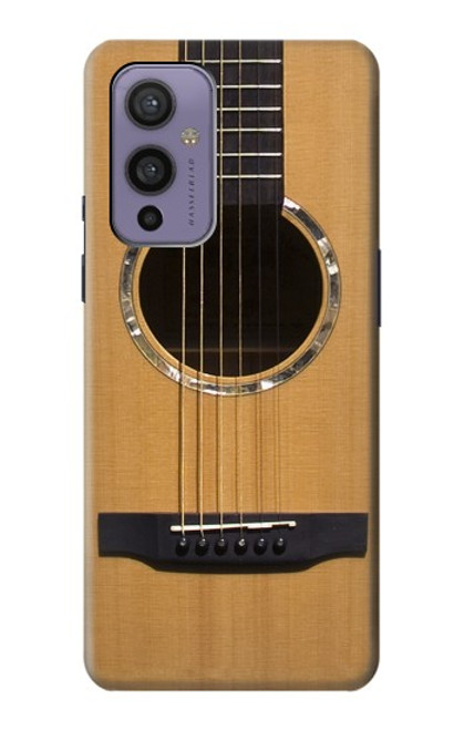 W0057 Acoustic Guitar Funda Carcasa Case y Caso Del Tirón Funda para OnePlus 9