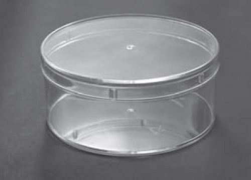 CLEAR PLASTIC PASTRY ROUND CONTAINER 380ML (TPB1)