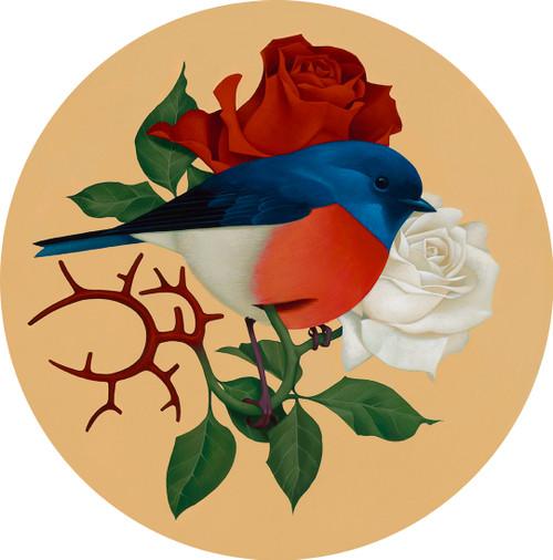 Pajarito Entre Rosas