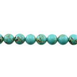 Stabilized Turquoise with Shell