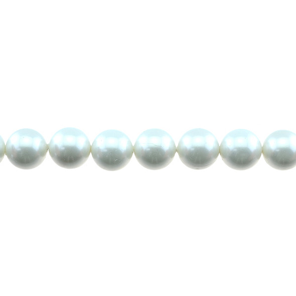 Shell Pearl South Sea White Round 12mm - Loose Beads