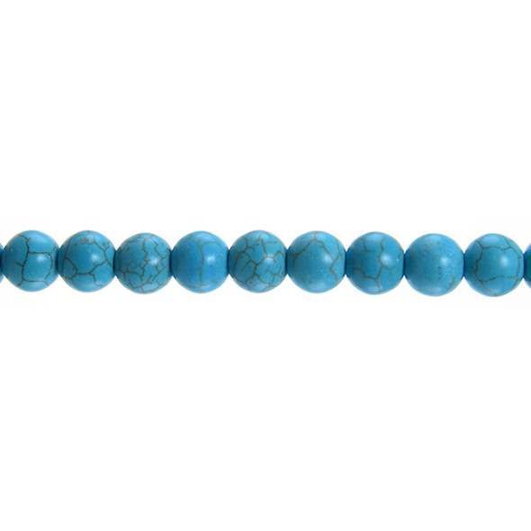 Stabilized Turquoise Round 10mm - Loose Beads