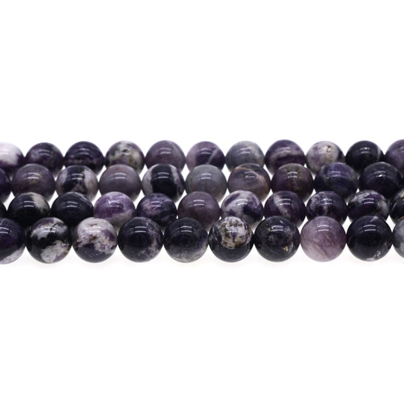 Sugilite Round 10mm - Loose Beads