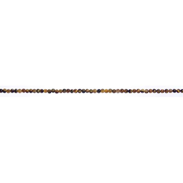 Tiger Eye Round 2mm - Loose Beads