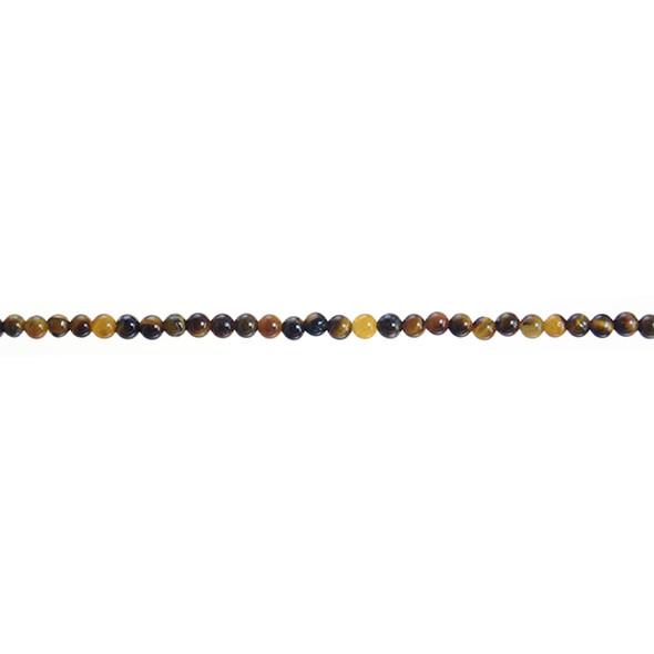 Tiger Eye Round 3mm - Loose Beads