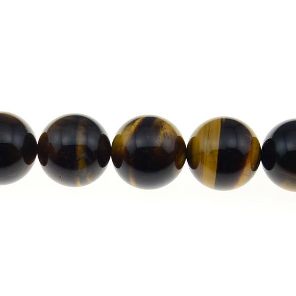 Tiger Eye Round 18mm - Loose Beads