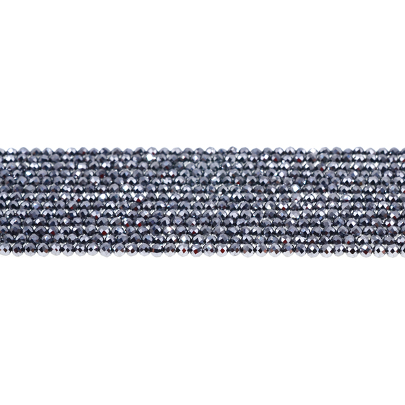 Terahertz Round Faceted Diamond Cut 3mm - Loose Beads