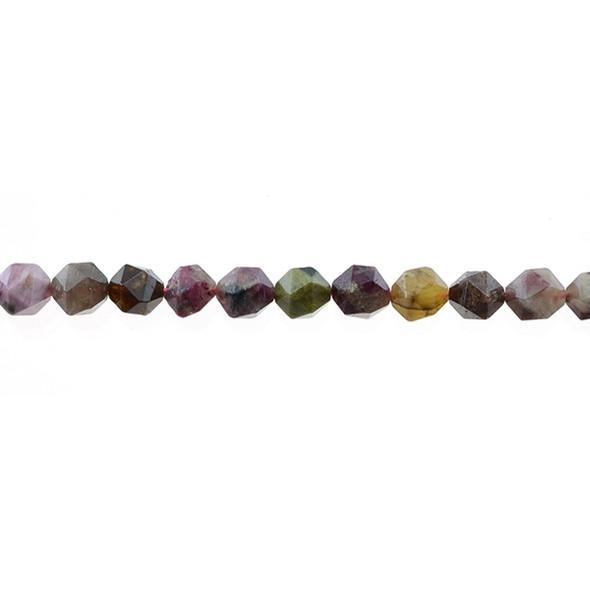 Multicolor Tourmaline Large Cut 8mm - Loose Beads