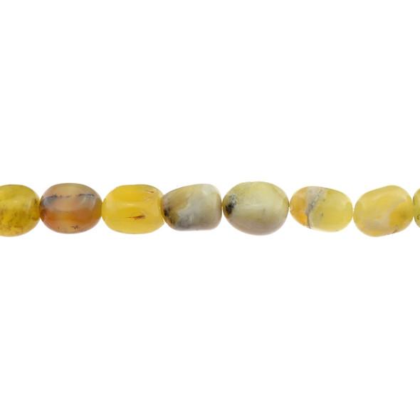 Yellow Opal Nugget Irregular 11mm x 11mm x 15mm - Loose Beads