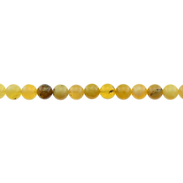 Yellow Opal Round 8mm - Loose Beads
