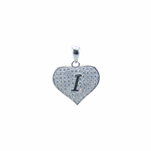 Sterling Silver Heart I (Micro Setting)